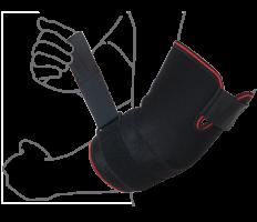Бандаж на локтевой сустав (с дополнительной фиксацией)